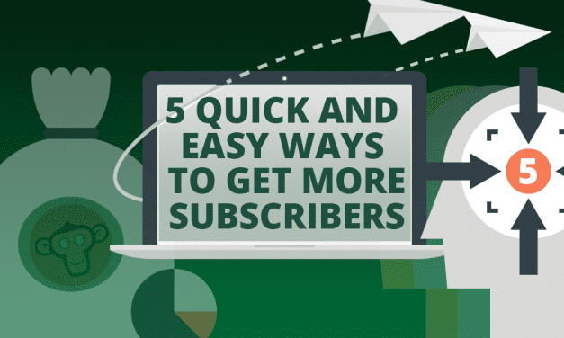 5 Quick and Easy Ways to Get More Subscribers
