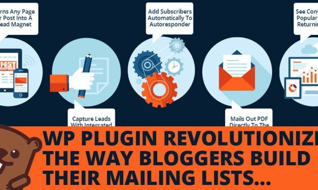 NEW WORDPRESS PLUGIN REVOLUTIONIZES THE WAY BLOGGERS BUILD MAILING LISTS
