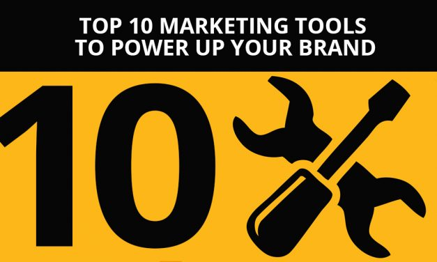 Top 10 Marketing Tools To Power Up Your Brand
