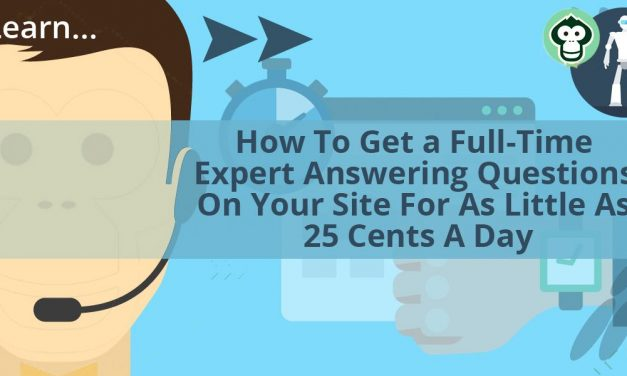 How To Get A Full Time Customer Service Rep For 25 Cents A Day