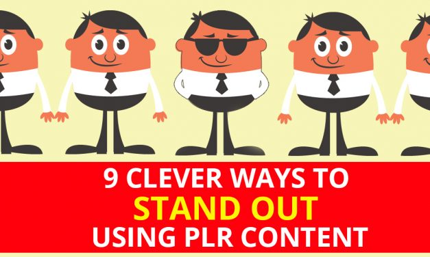 9 Clever Ways To Stand Out Using PLR