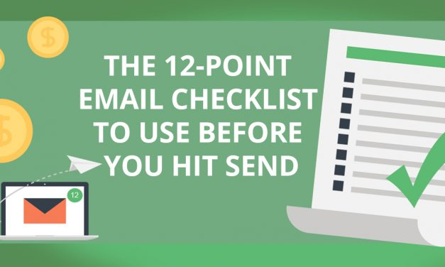 12 Point Email Checklist