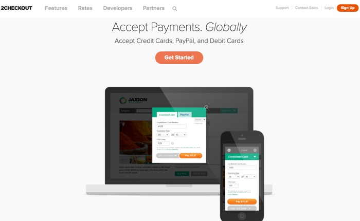 2Checkout Payment Gateway Processor