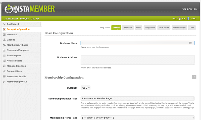 Membership Site Services Review - InstaMember