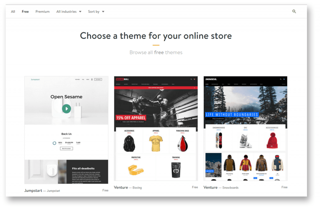 Shopify Themes - Promote Labs